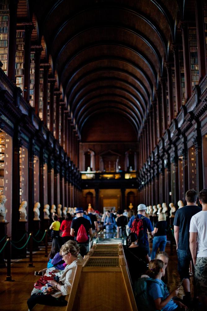 Trinity Library, Dublin