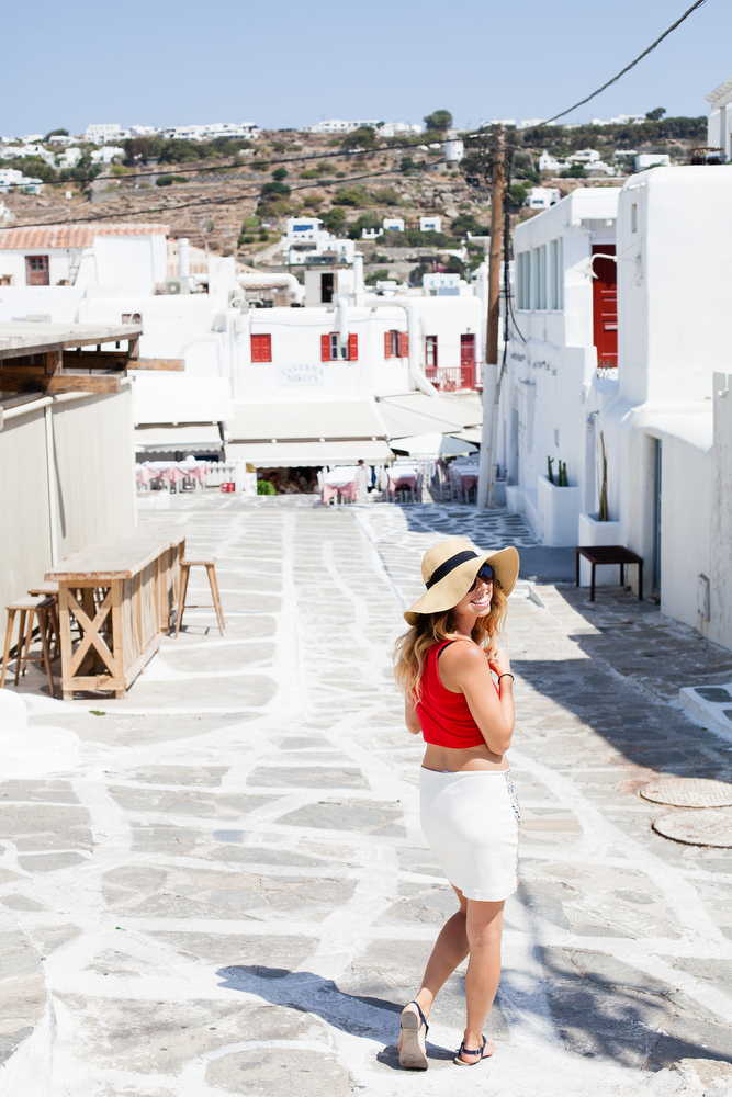 Mykonos, Greece | freckleandfair.com