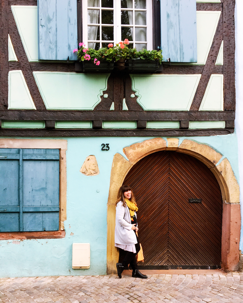 Colorful Colmar, France in the Alsace region | freckleandfair.com
