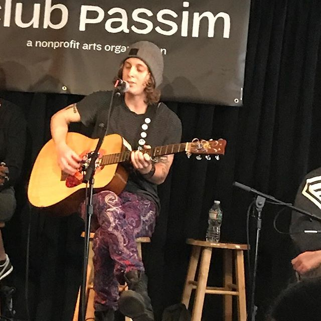 @mattminigell is not to be missed at Campfire! On now! @clubpassim
