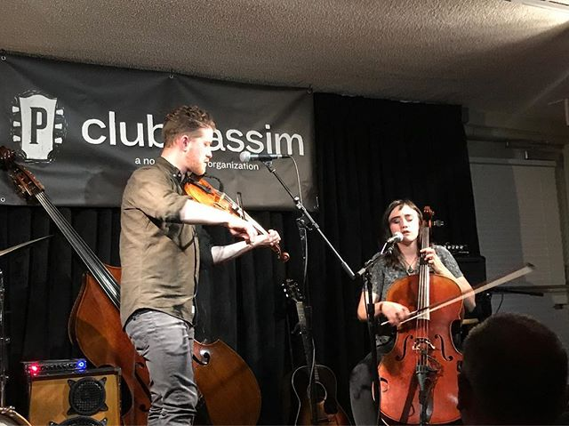 @clubpassim all day every day. @oliverthecrow CD release RIGHT NOW :)