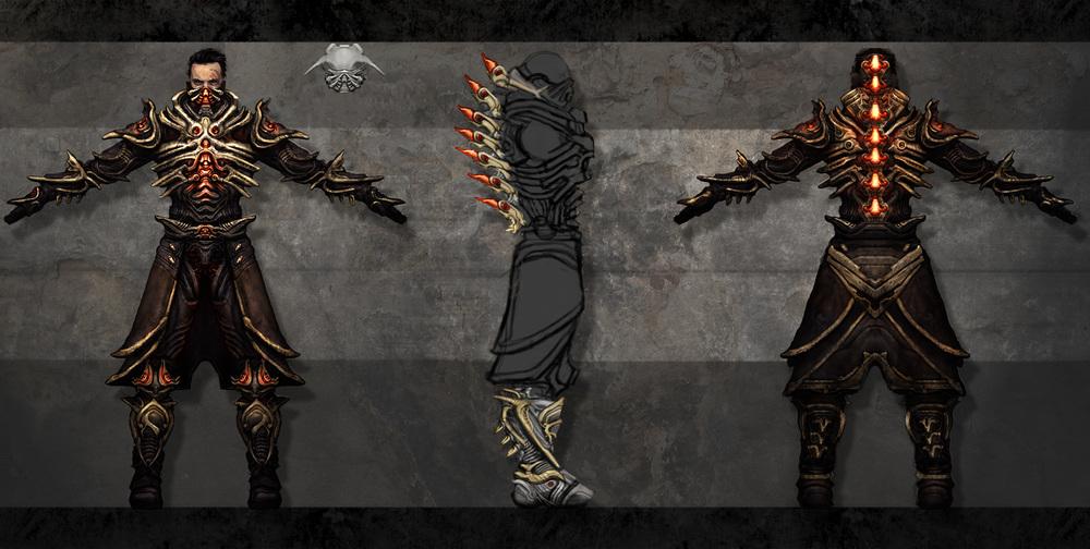 Cabalist Armor Design