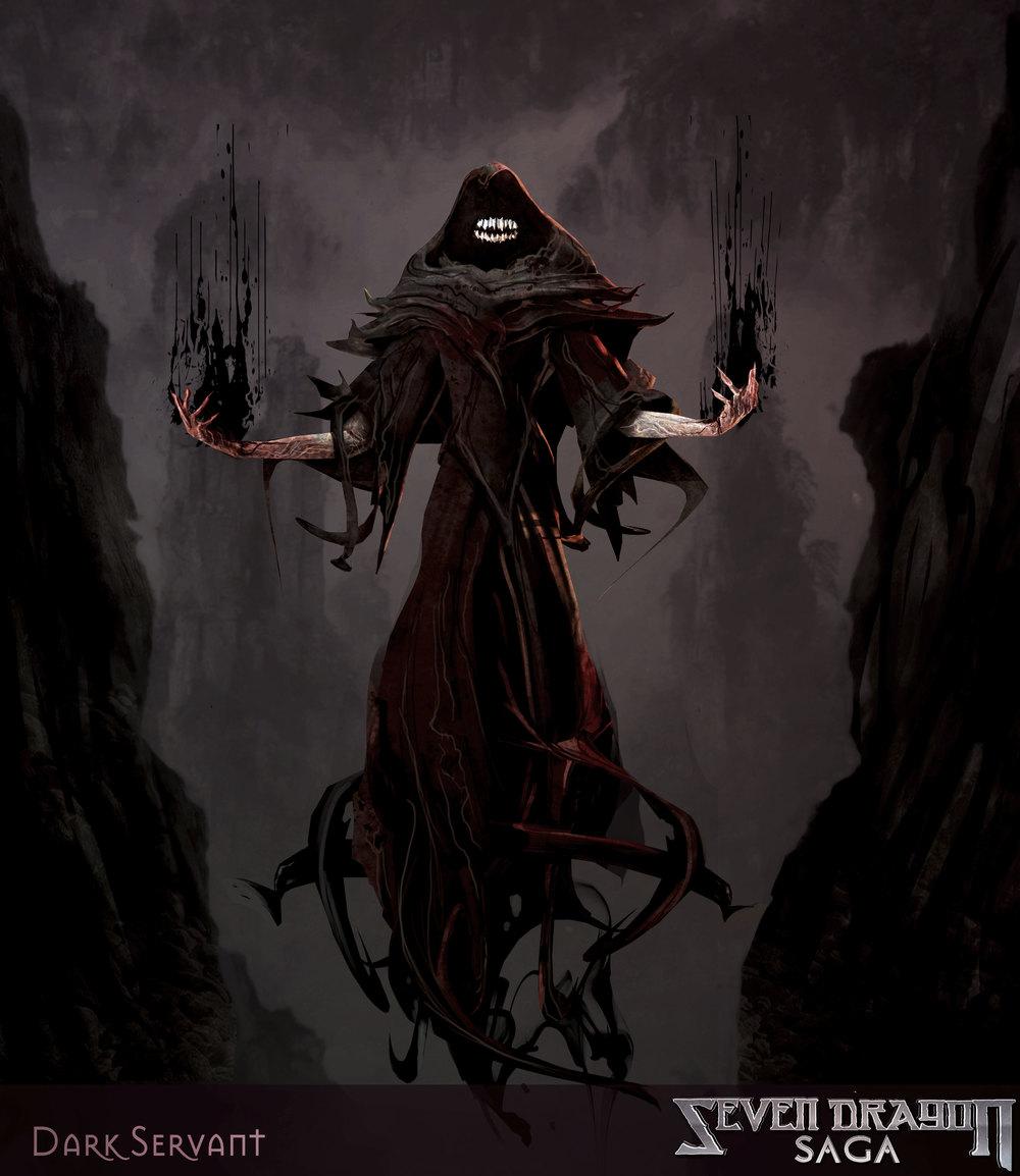 Dark Servant - Seven Dragon Saga