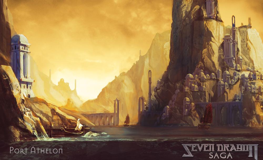 Port Aphelon - Seven Dragon Saga