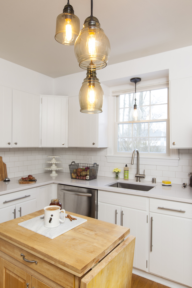 Contemporary Kitchen Remodel - Before and After — JERRICA ZARIC ...
