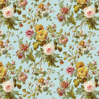 Floral: Decorated with or consisting of flowers or patterns of flowers.