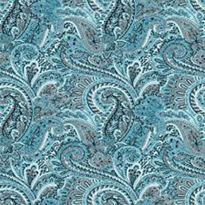 Paisley: A stylized teardrop-shaped design that originally appeared in Paisley, Scotland.