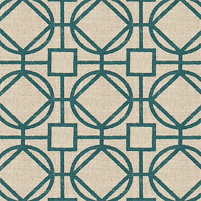 Trellis: A pattern of interwoven lines that mimic structures used to support climbing plants.