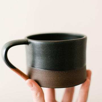 Mortar mug  from  Sam Nichols Pottery ; $32