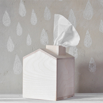 Tissue box  from  forCRAFT ; $19.80