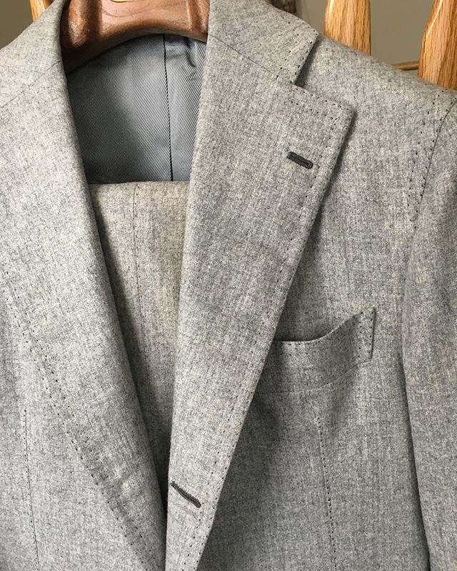 Must have grey flannel suit for Fall/Winter.