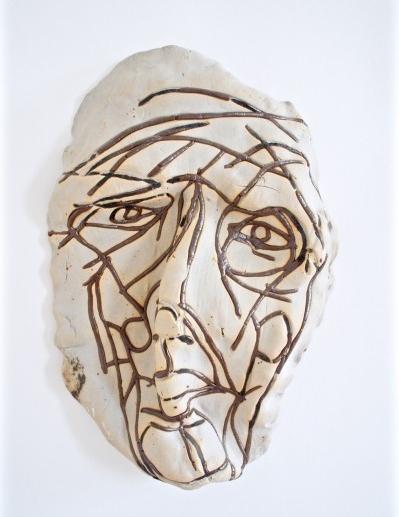 Derek Weisberg ceramic mask