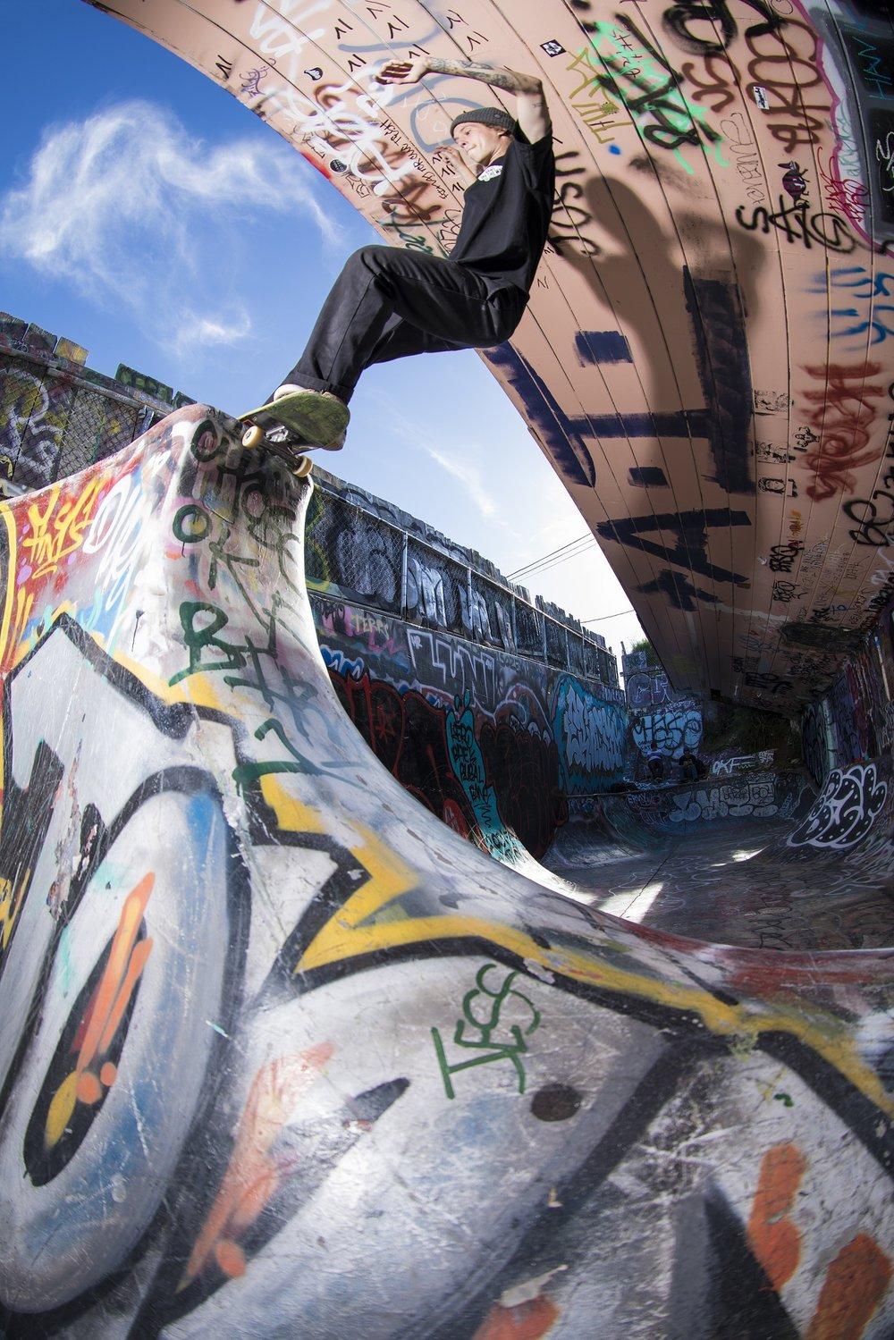 Phillip McKenzie skate photos