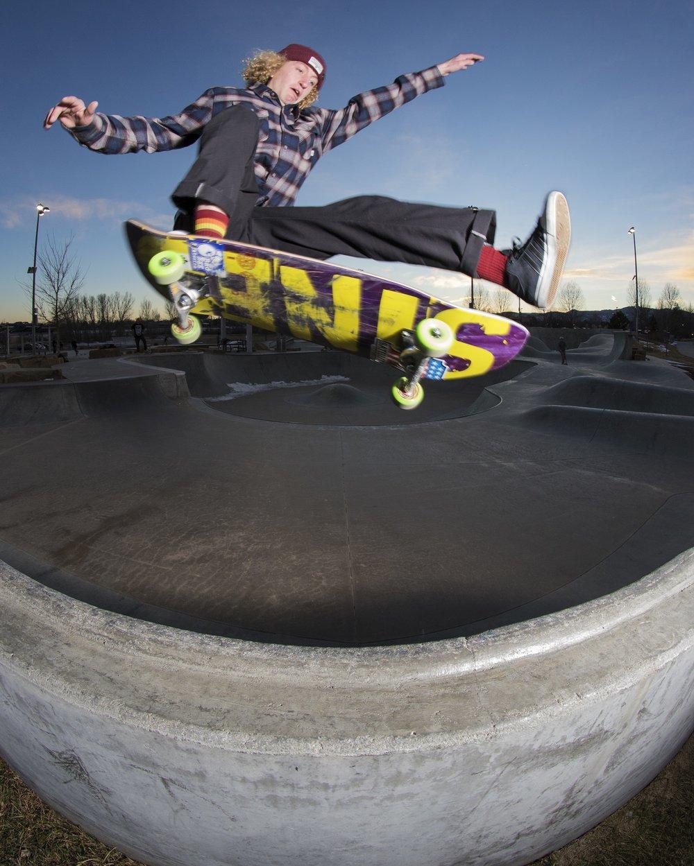 Phillip McKenzie Colorado skateboarding photography