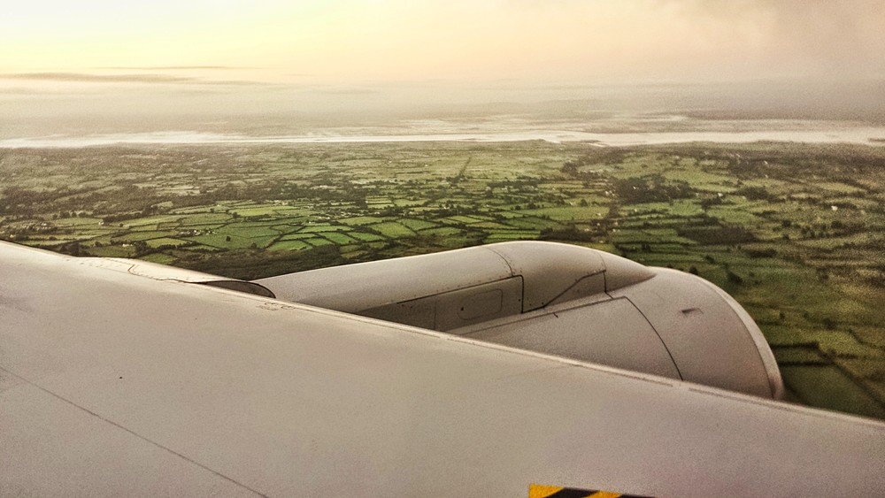 Arriving in Shannon