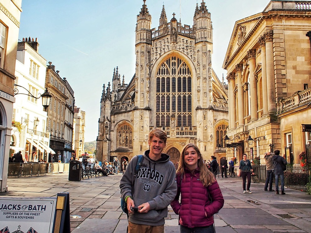 Bath - great free walking tour