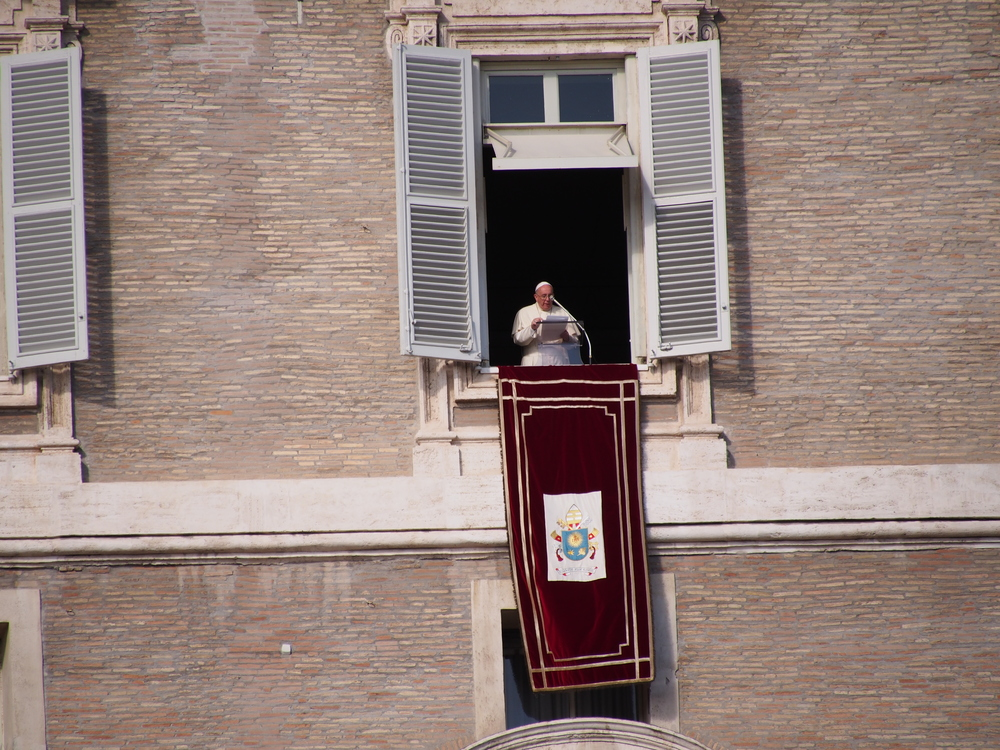 Seeing the Pope was surprisingly fun