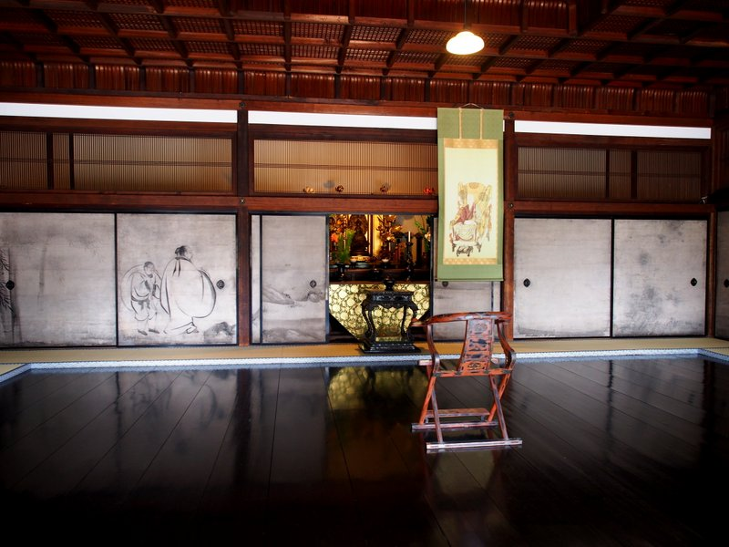 This is the room where the Japanese tea ceremony was invented