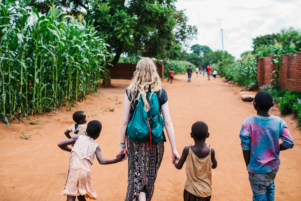 I had such an amazing adventure in Africa. (Photo by  Lizzie Randazzo )