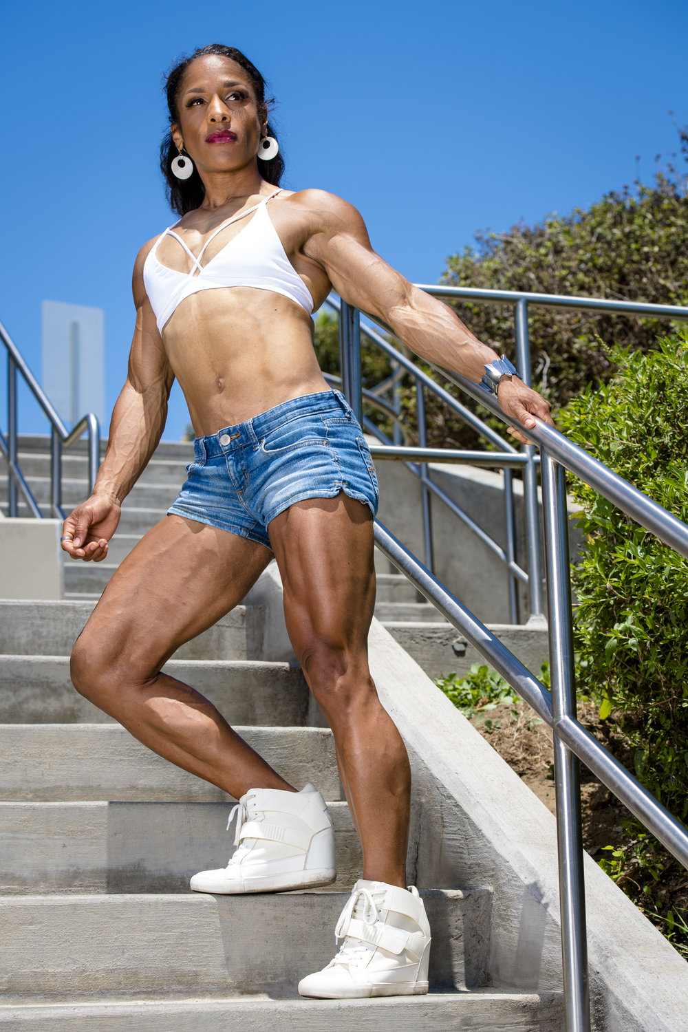 "Click on Store to purchase my ""Build Your Wheelz"" leg training program!"