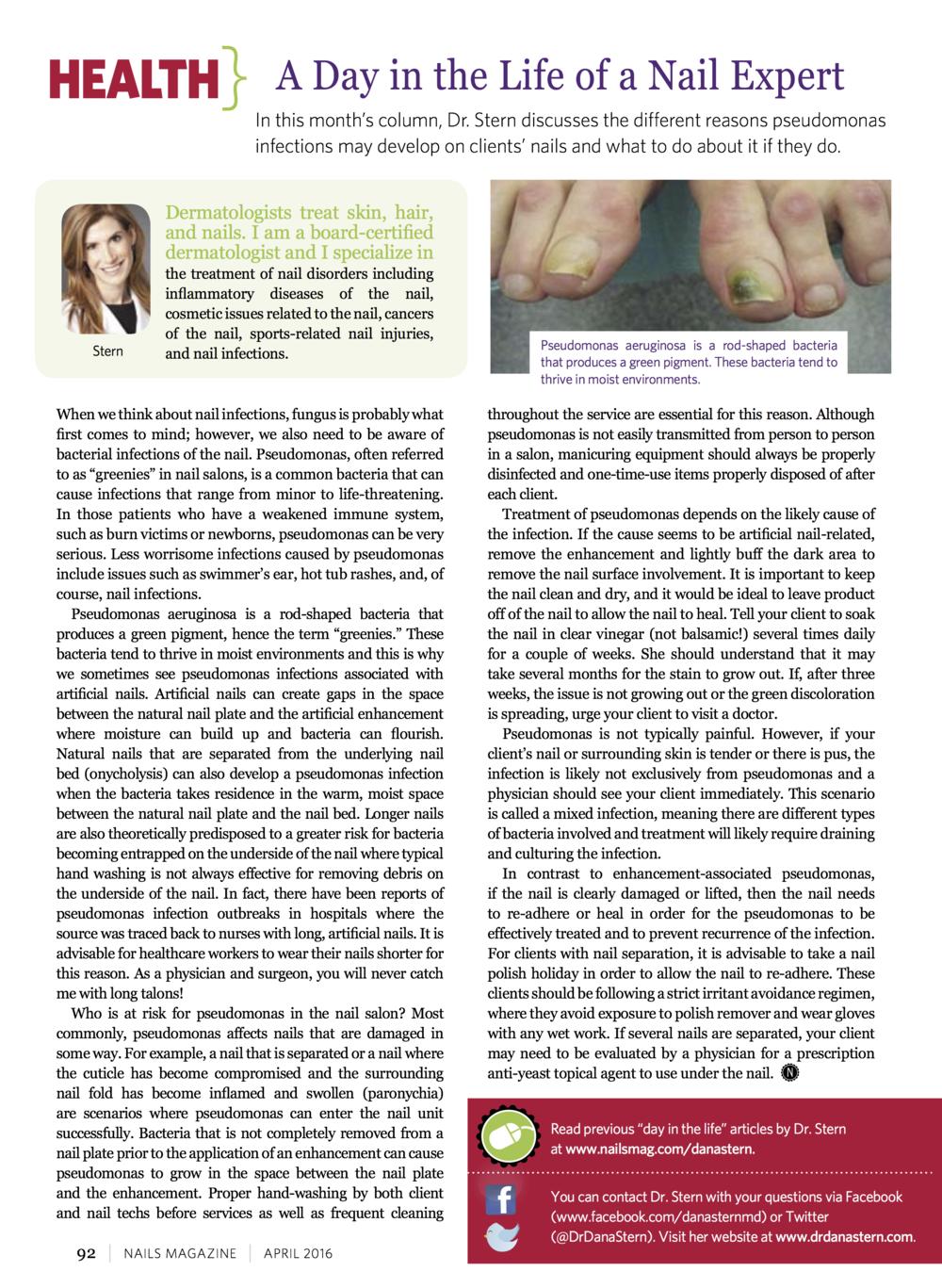 Nail News — Dr. Dana Stern | Dermatologist | Nail Specialist
