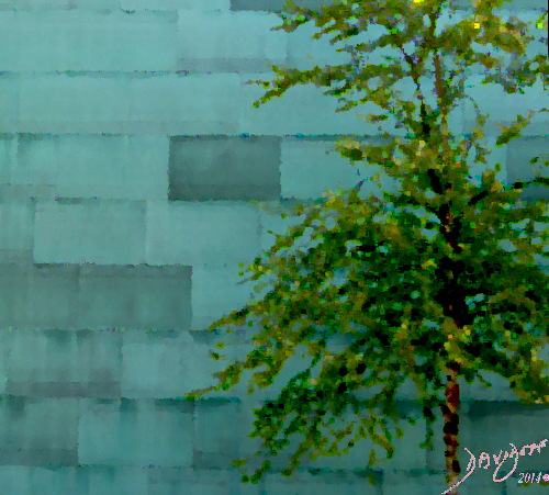The Bricks of Biology Cells Leaves and the Tree Davidoff Art Copyright 2014
