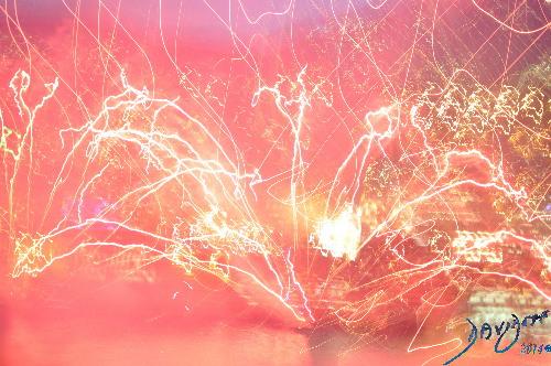 In the Beginning - Big Bang- and Time Zero 15 billion years ago Davidoff Art Copyright 2014