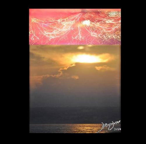 Creation of Night and Day Heaven and Earth Davidoff Art Copyright 2014