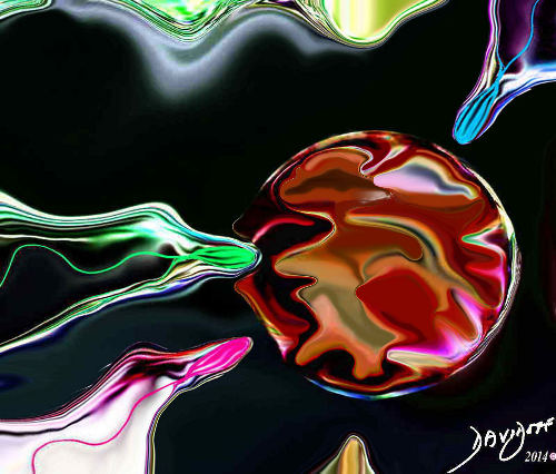 A Moment in Time of Human Conception and Creation Davidoff Art Copyright 2014