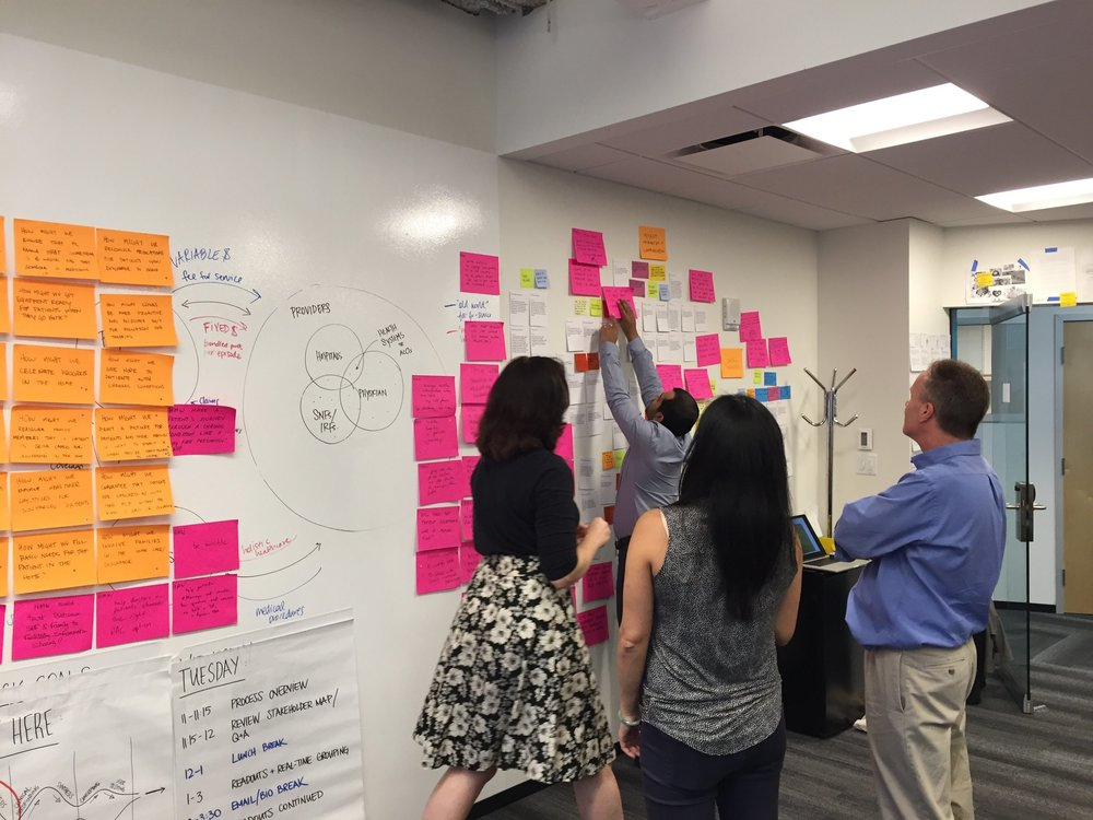 Building a HealthCare SErvice (and a new business)