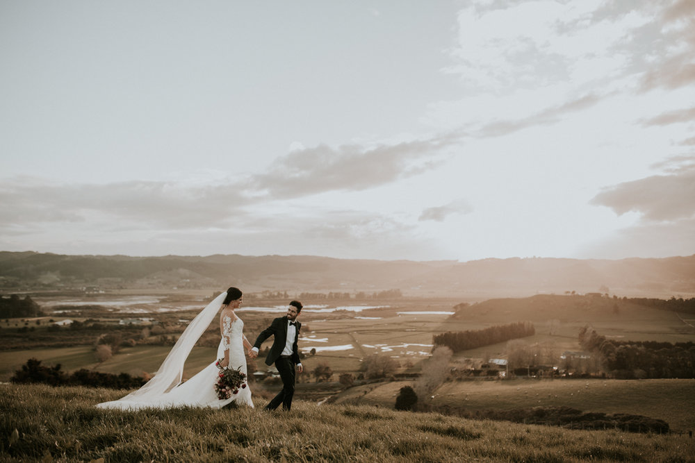 SHANNON AND DEJAN: KAURI BAY WEDDING