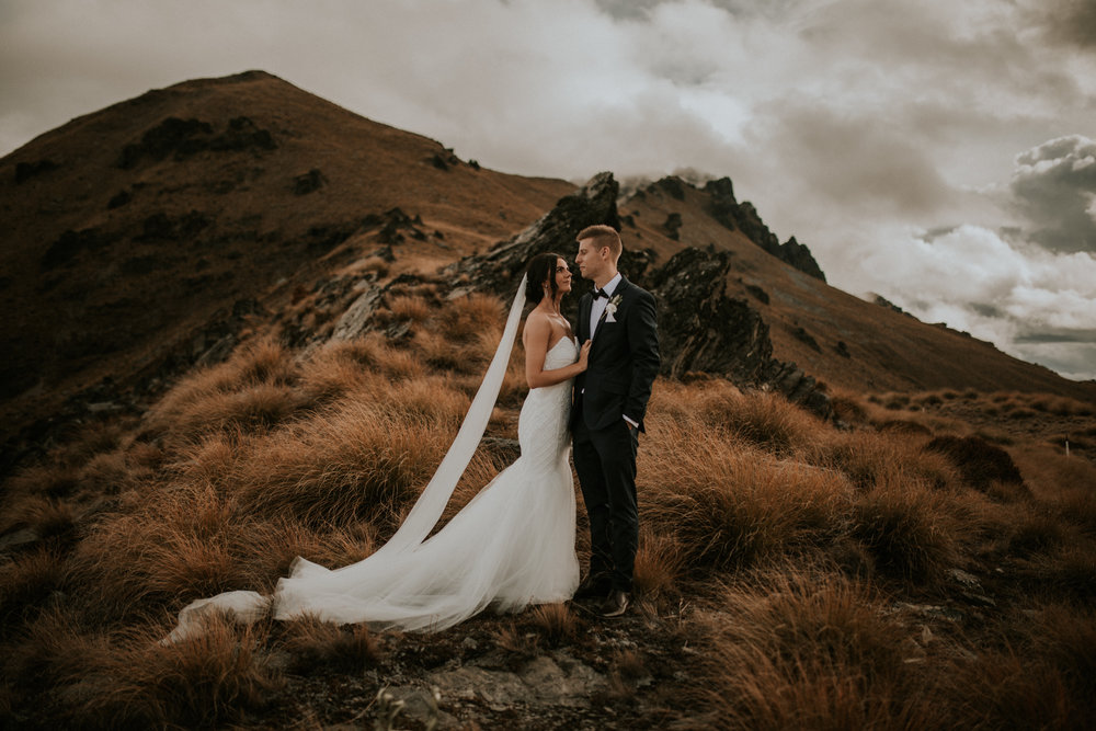 Kimberley and Matt: Queenstown Wedding Photography
