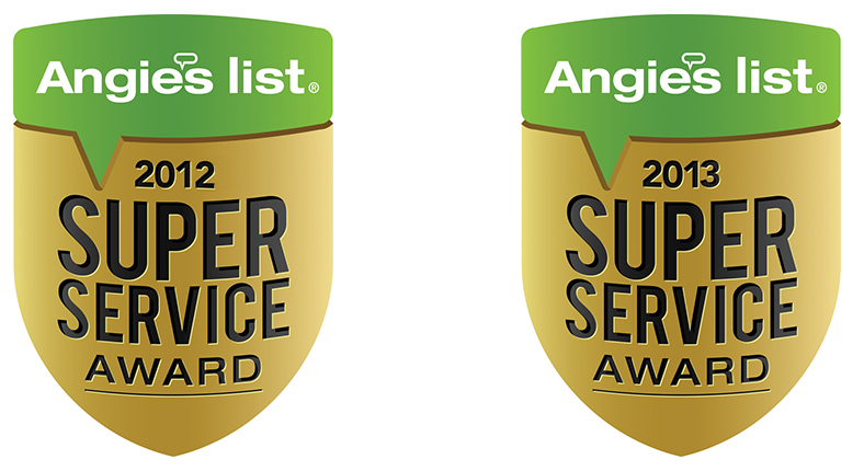 angie's list reviews award for best acupuncture and massage therapy in 2012 and 2013 in Nashville, TN
