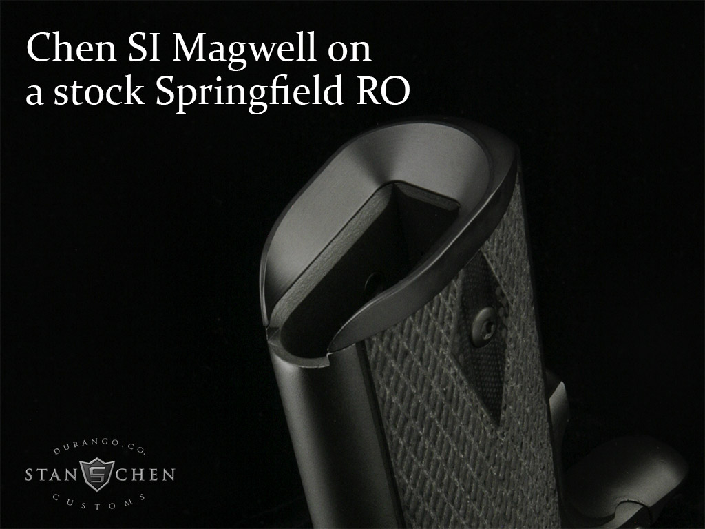New From Stan Chen Custom The Si Shooter Installed Magwell