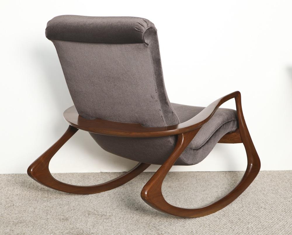 Contour Rocking Chair By Vladimir Kagan United States