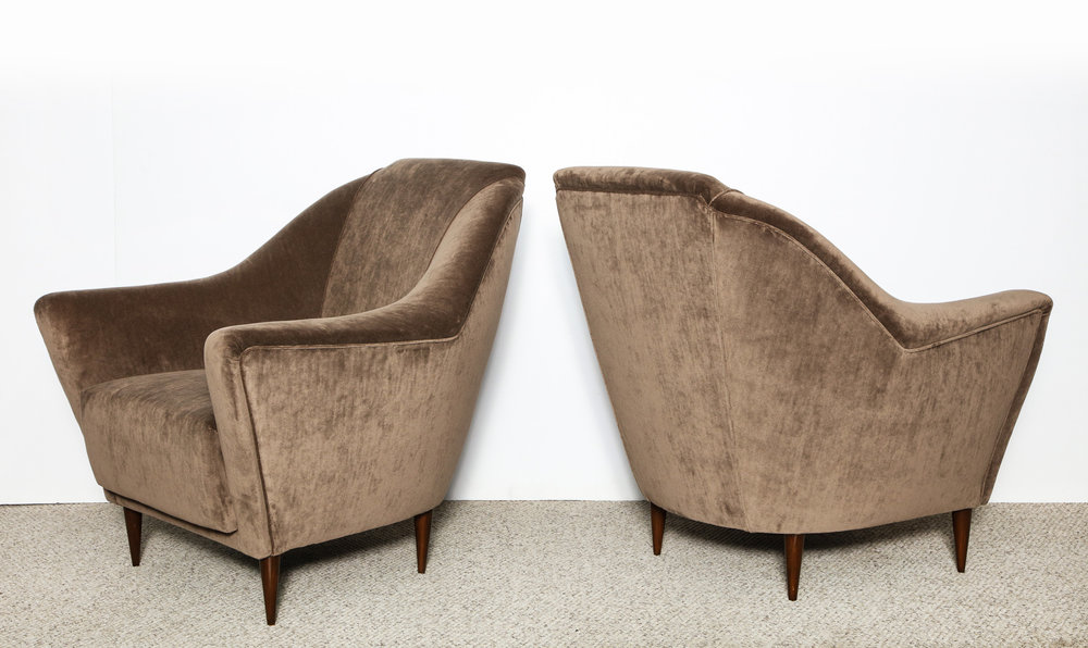 Rare Lounge Of Parisi Pair By Ico Chairs 8OnPwX0k
