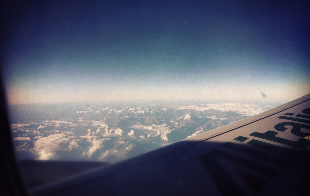 38,000ft on Alitalia over the French/Swiss Alps (shot taken en route to Palermo from Milan)