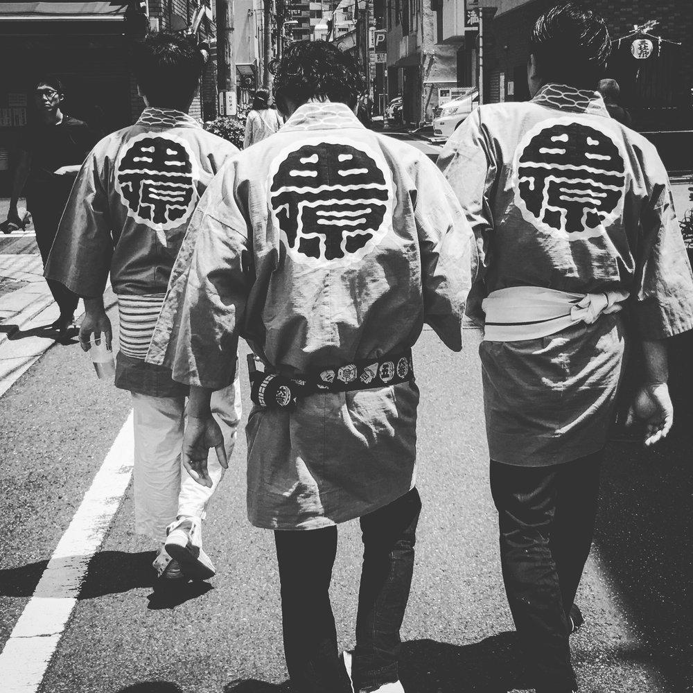Men of Ritual Asakusa, Tokyo, Japan