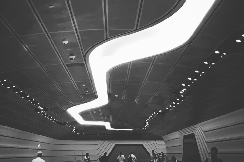 Parametricism #1 Wynyard Station [West Exit corridor], Downtown Sydney, Sydney, Australia