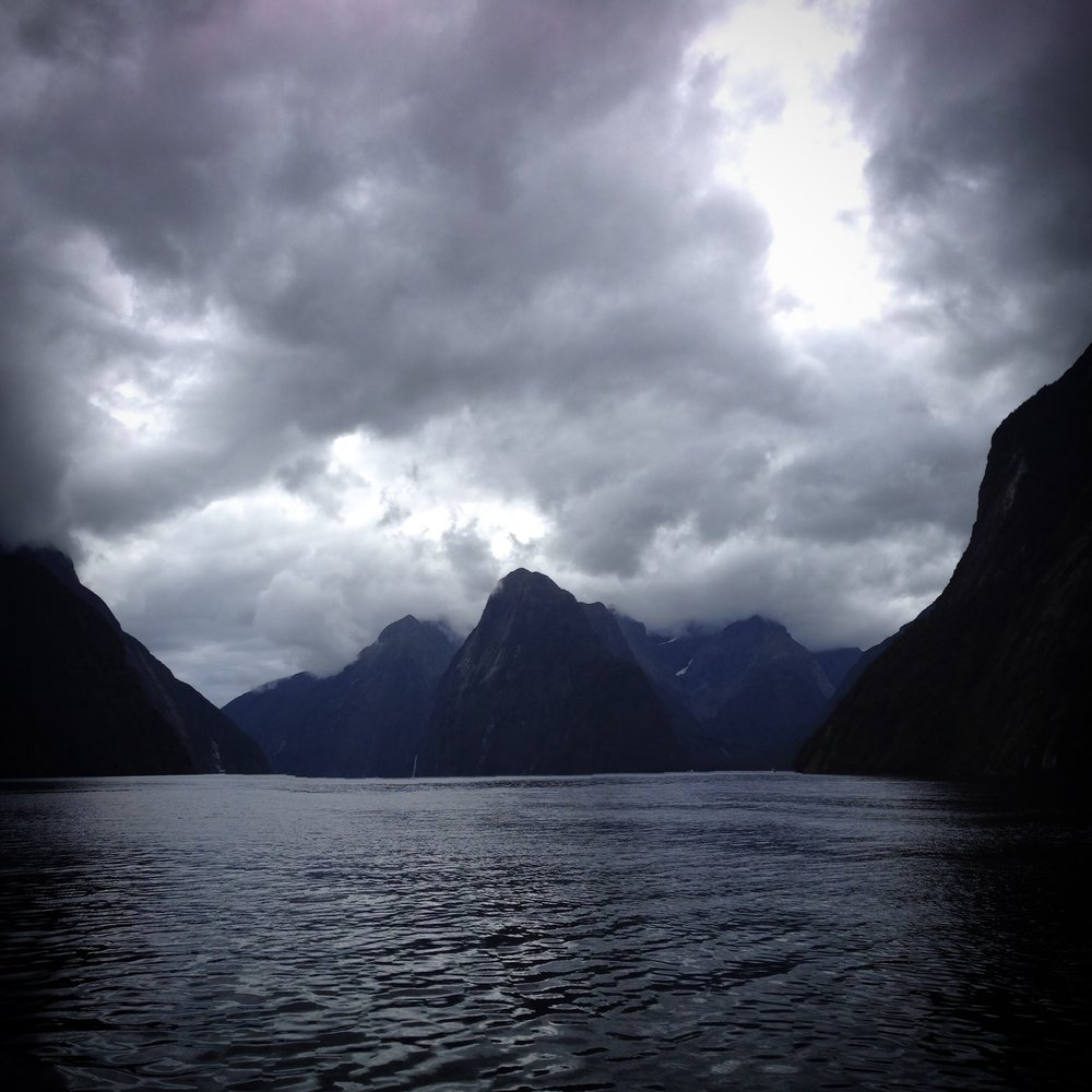 Ominous    Fjordland, New Zealand