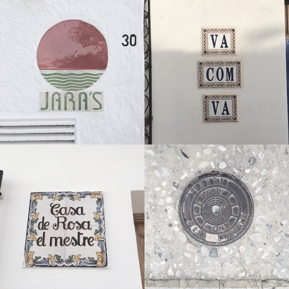 Type Exploration   Altea Old Town, Spain