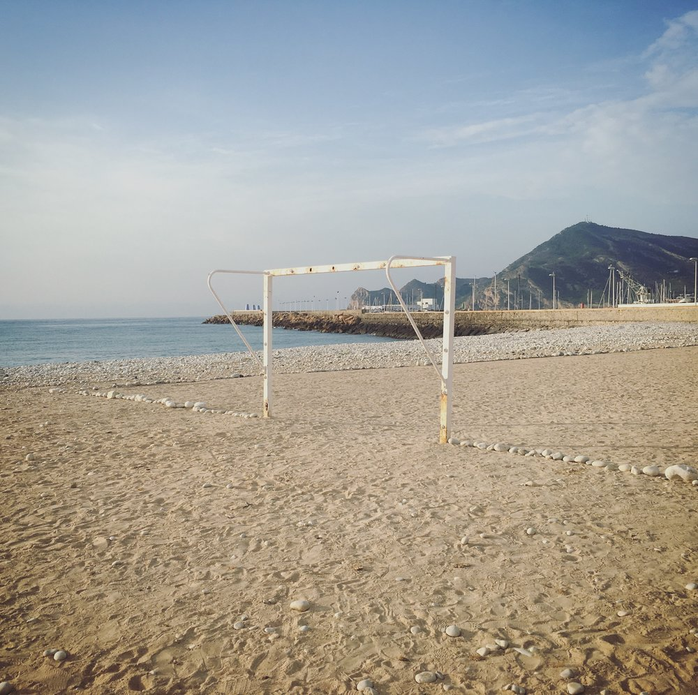 Futbol de Playa   Altea Old Town, Spain