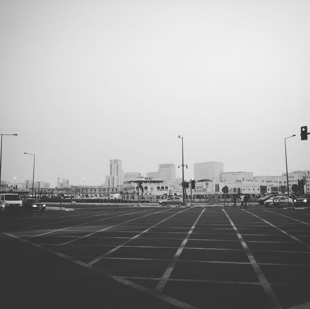 Souq Waqif Crossing Doha, Qatar