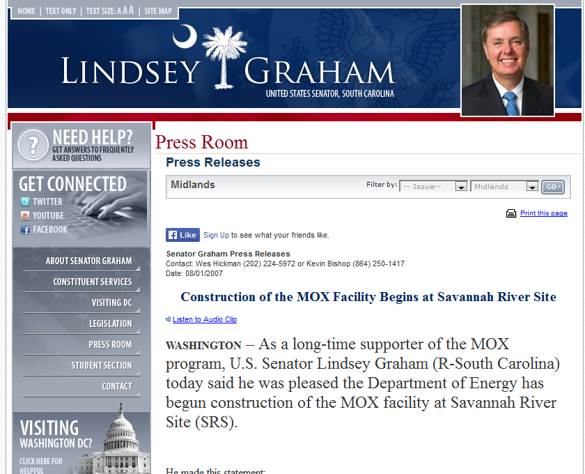 11 long-time supporter of the MOX program, U.S. Senator Lindsey Graham.png