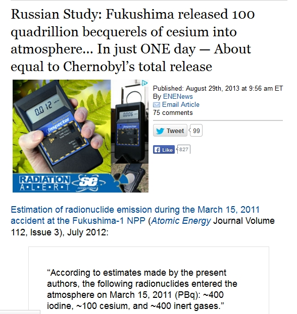 Fukushima released 100 quadrillion becquerels of cesium into atmosphere… In just ONE day — About equal to Chernobyl's total.jpg