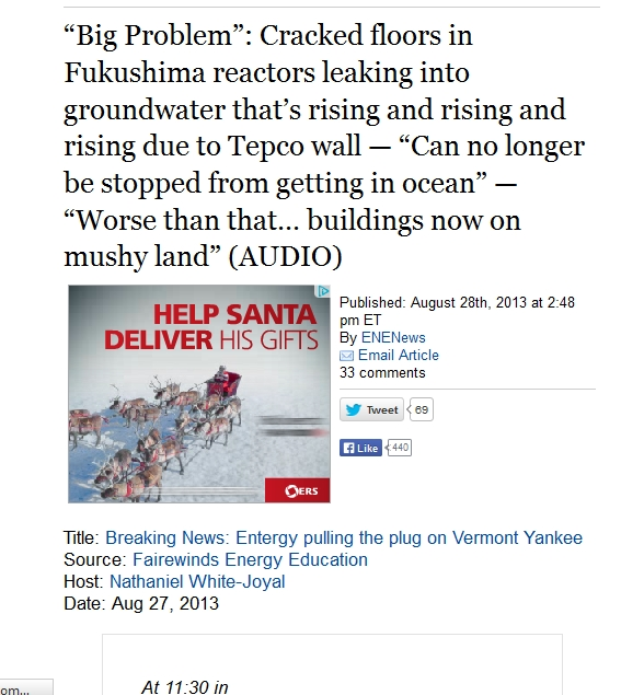 Cracked floors in Fukushima reactors leaking into groundwater that's rising and rising and rising due to Tepco wall.jpg