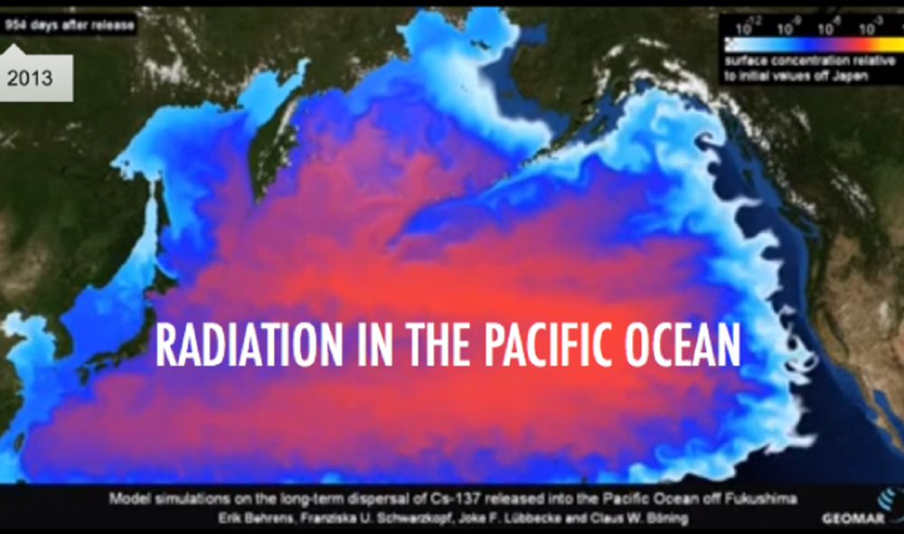 Page Pacific Ocean Radiation Damage The Nuclear Proctologist - Japan radiation map 2014