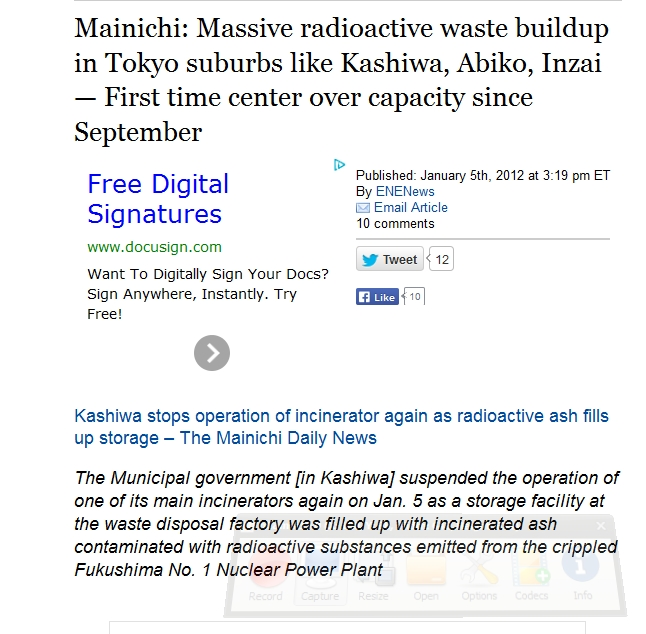 9 Massive radioactive waste buildup in Tokyo suburbs like Kashiwa, Abiko, Inzai  1.jpg