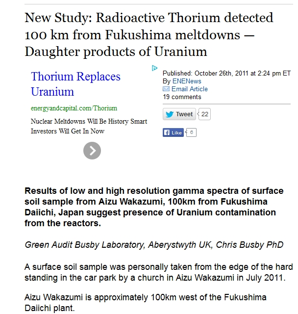 100 km New Study Radioactive Thorium detected 100 km from Fukushima meltdowns — Daughter products of Uranium.jpg