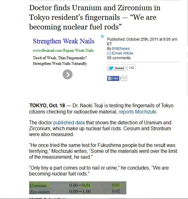 "220 km Doctor finds Uranium and Zirconium in Tokyo resident's fingernails — ""We are becoming nuclear fuel rods"".jpg"